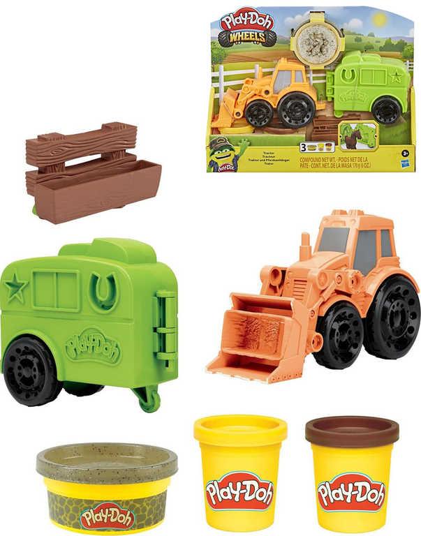 HASBRO PLAY-DOH Traktor kreativní set modelína s doplňky