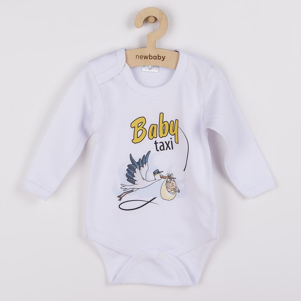 Body s potiskem New Baby Baby taxi