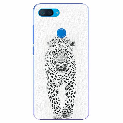 Plastový kryt iSaprio - White Jaguar - Xiaomi Mi 8 Lite