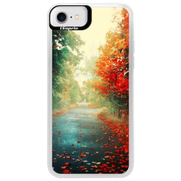 Neonové pouzdro Blue iSaprio - Autumn 03 - iPhone 7