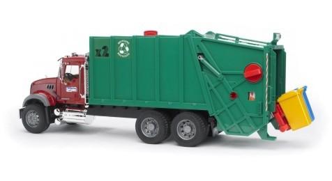 BRUDER 02812 (2812) Auto nákladní MACK popelář