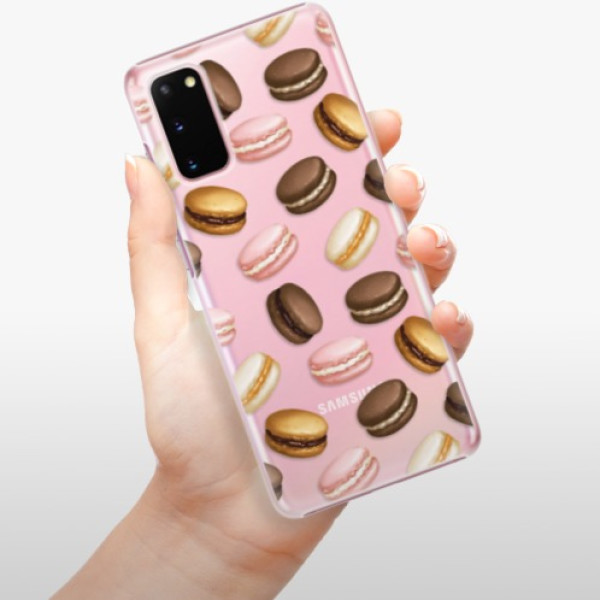Plastové pouzdro iSaprio - Macaron Pattern - Samsung Galaxy S20