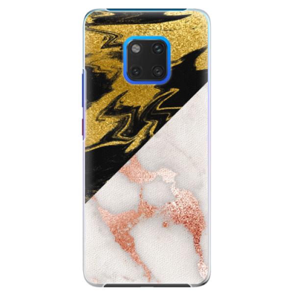 Plastové pouzdro iSaprio - Shining Marble - Huawei Mate 20 Pro