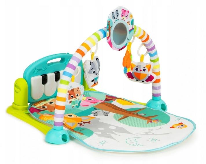 Eco Toys Hrající interaktivní podložka s hrazdičkou, chrasítky a projektorem, mátová