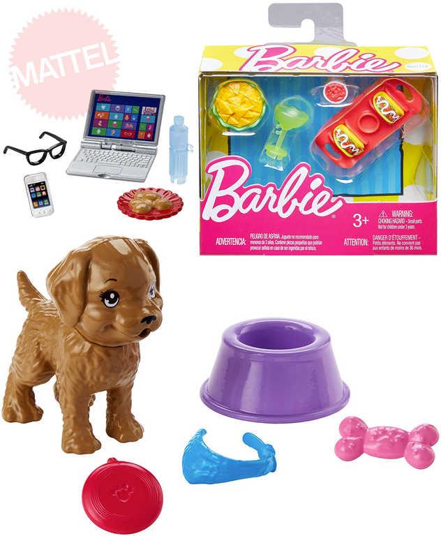 MATTEL BRB Barbie herní set doplňky - 5 druhů