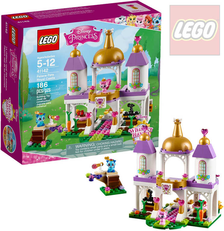 LEGO PRINCESS Mazlíčci z paláce - královský hrad 41142 STAVEBNICE