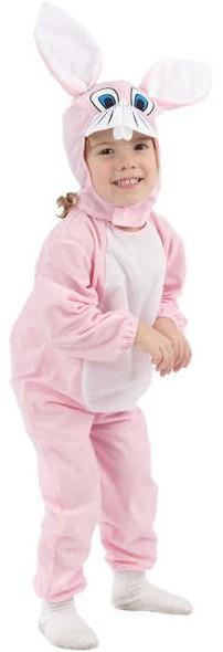 KARNEVAL Šaty Zajíček Růžový obleček Vel. XS KARNEVALOVÝ DOPLNĚK