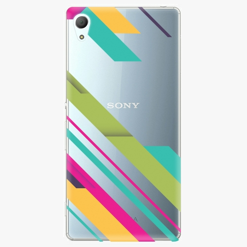Plastový kryt iSaprio - Color Stripes 03 - Sony Xperia Z3+ / Z4