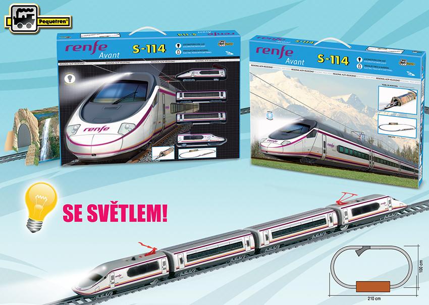 Pequetren RENFE AVANT S-114