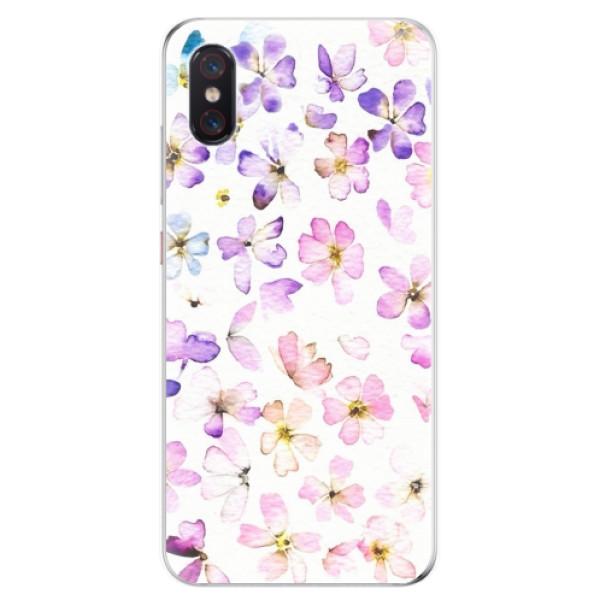 Odolné silikonové pouzdro iSaprio - Wildflowers - Xiaomi Mi 8 Pro