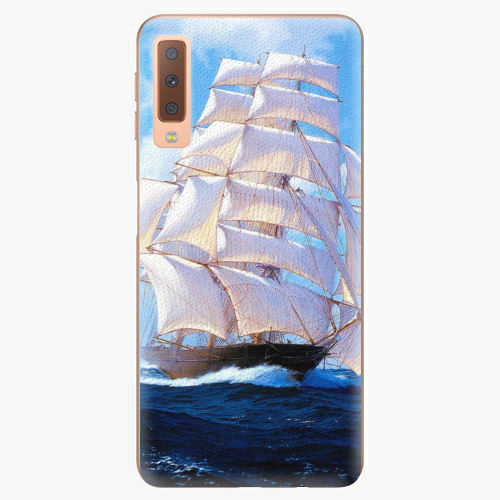 Plastový kryt iSaprio - Sailing Boat - Samsung Galaxy A7 (2018)