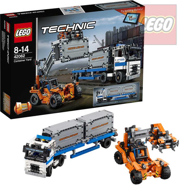 LEGO TECHNIC Přeprava kontejnerů 42062 STAVEBNICE