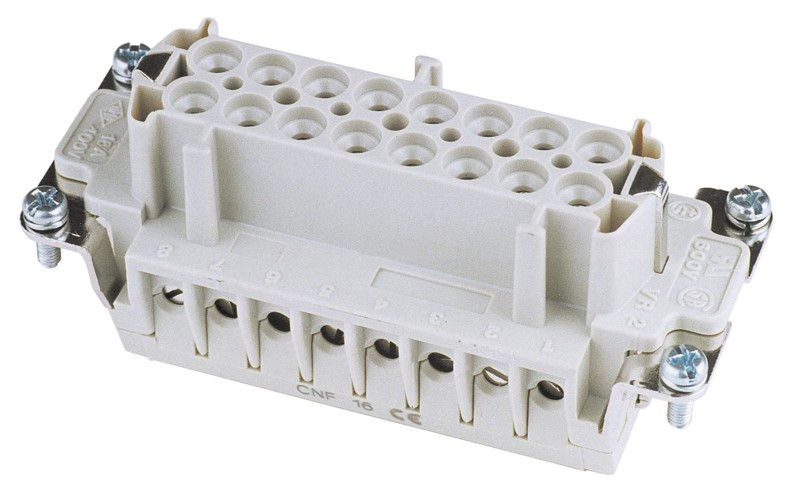 Zásuvkový konektor 16 pólový