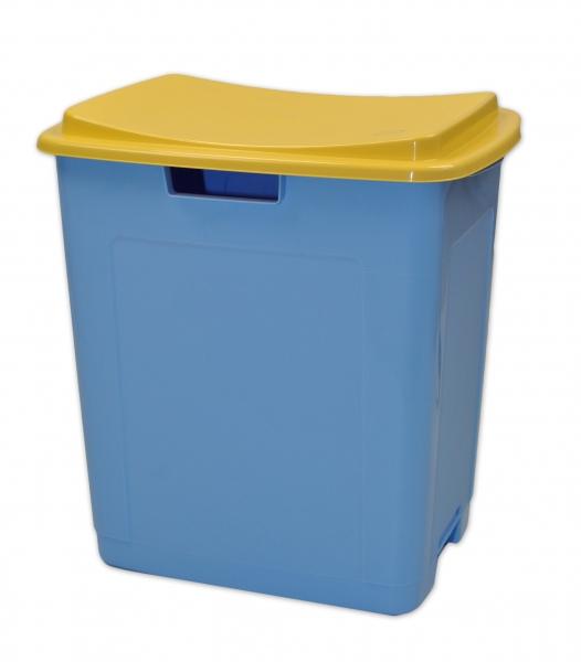 Plastový úložný box na hračky TOY&SIT - modrý
