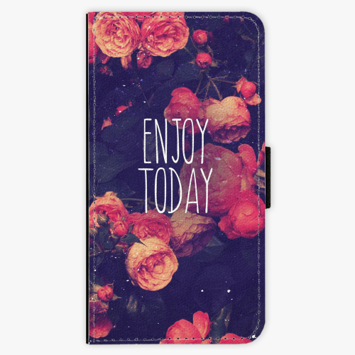 Flipové pouzdro iSaprio - Enjoy Today - Samsung Galaxy J7 2016