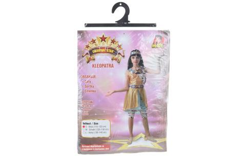 Šaty na karneval - Kleopatra, 110 - 120 cm
