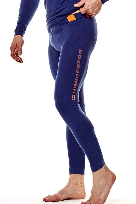 Pánské termo spodky 22970 Safe 59x blue - Tmavě modrá/L