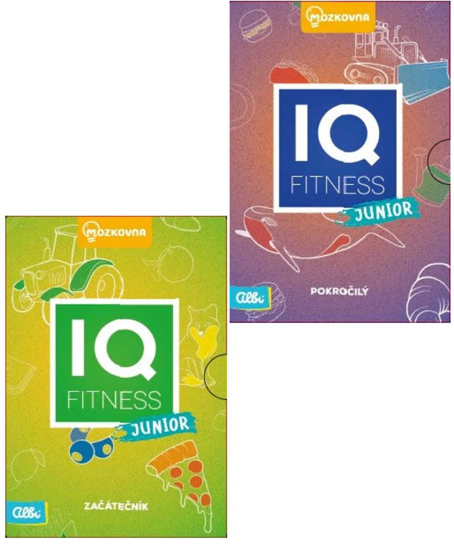 ALBI Hra karetní IQ Fitness Junior Mozkovna 2 varianty