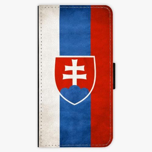 Flipové pouzdro iSaprio - Slovakia Flag - Sony Xperia XZ