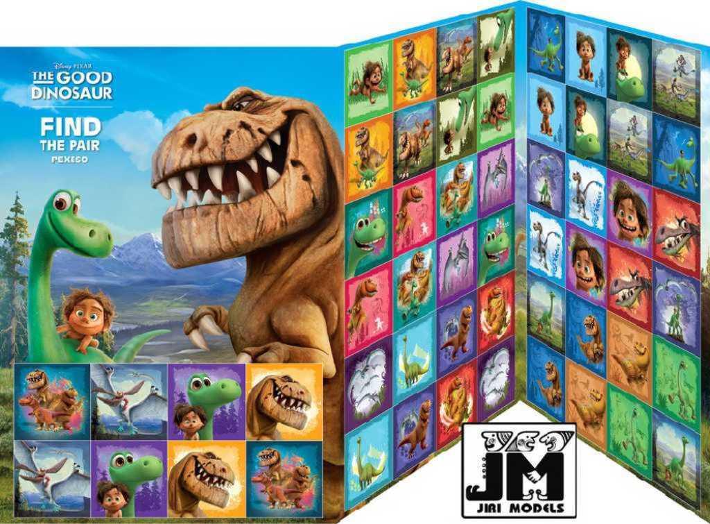 JIRI MODELS Pexeso A4 Hodný dinosaurus Disney