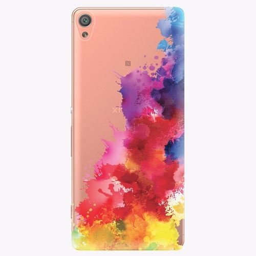 Plastový kryt iSaprio - Color Splash 01 - Sony Xperia XA