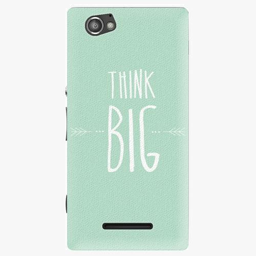 Plastový kryt iSaprio - Think Big - Sony Xperia M