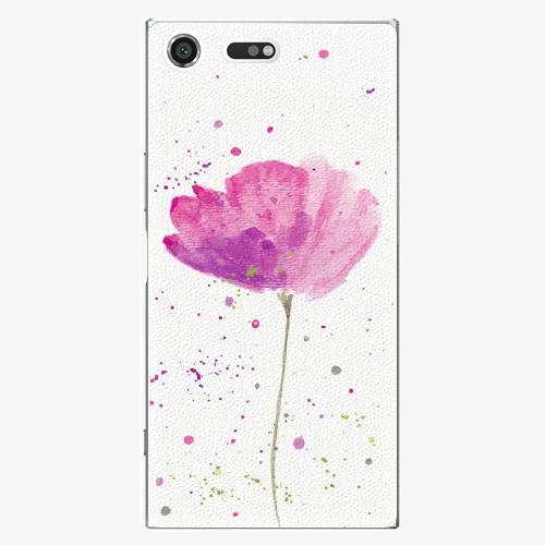 Plastový kryt iSaprio - Poppies - Sony Xperia XZ Premium