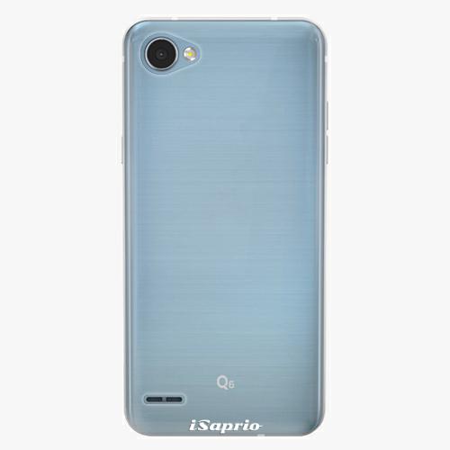 Plastový kryt iSaprio - 4Pure - průhledný matný - LG Q6