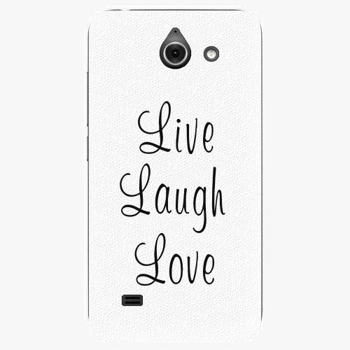 Plastový kryt iSaprio - Live Laugh Love - Huawei Ascend Y550