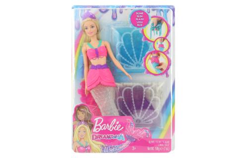 Barbie Mořská víla a třpytivý sliz GKT75