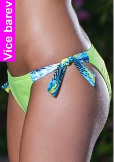 Spodní díl plavek Kristen K17 - Fantasy - Zelená/M