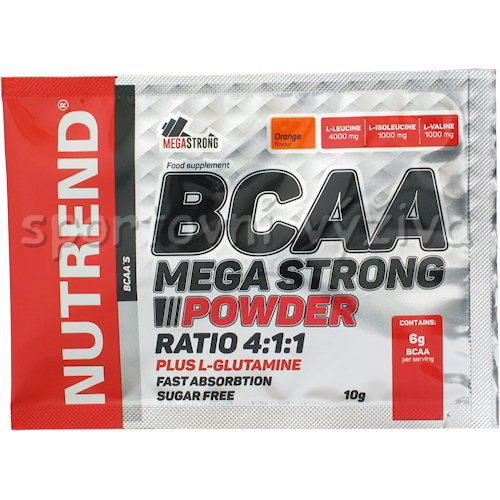 BCAA Mega Strong Powder 10g - AKCE-ananas
