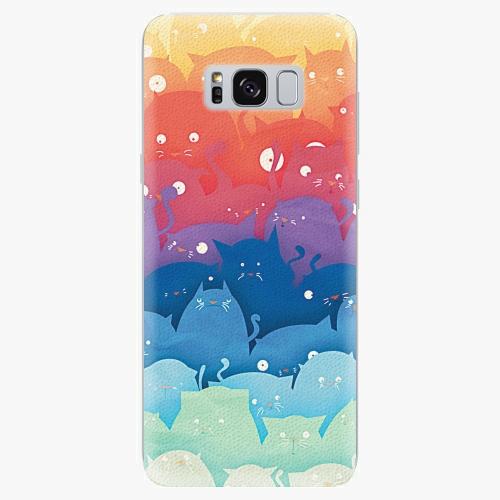 Silikonové pouzdro iSaprio - Cats World - Samsung Galaxy S8