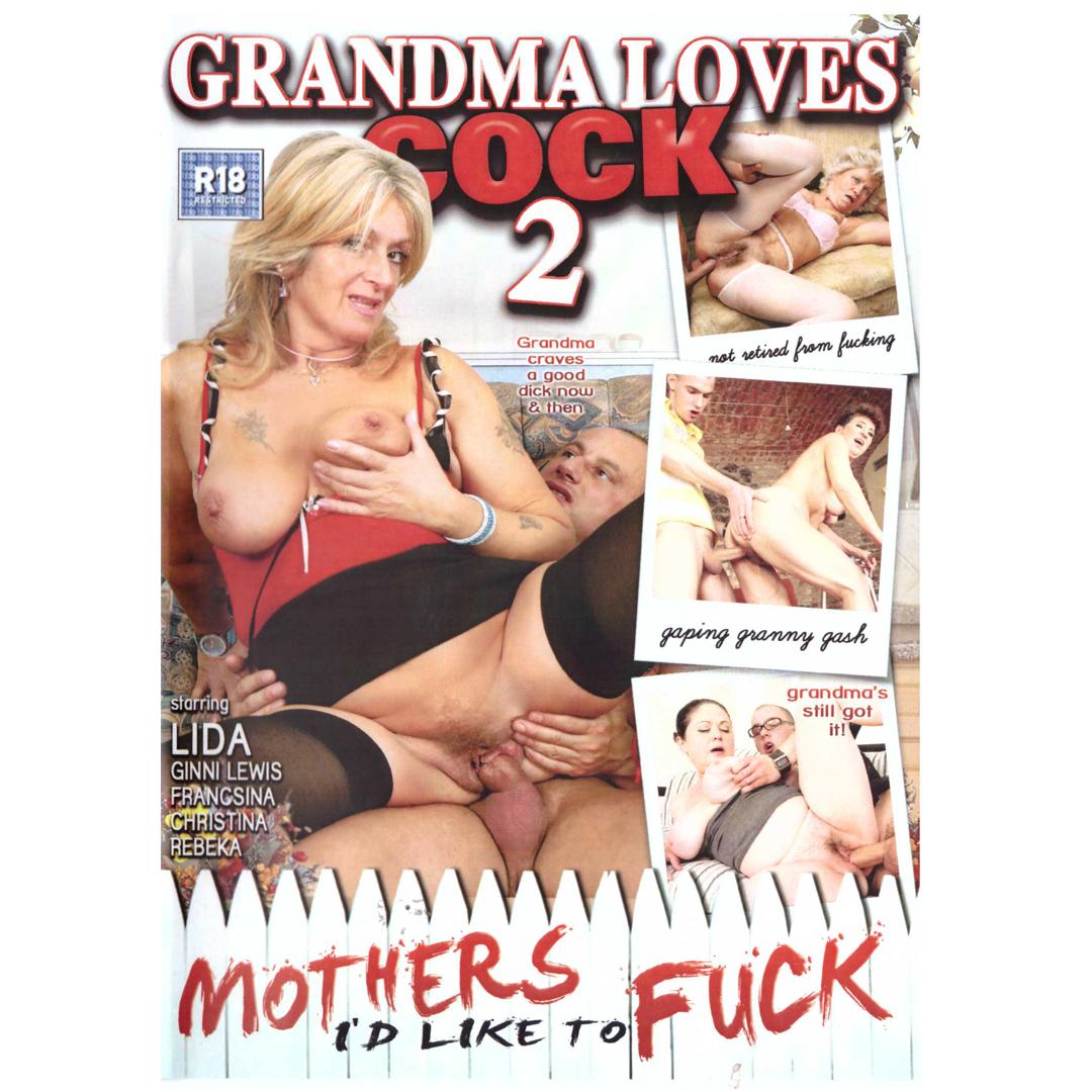 DVD - Grandma Loves Cock 2 - Babičky si chtějí užít <br>97 MIN, DVD