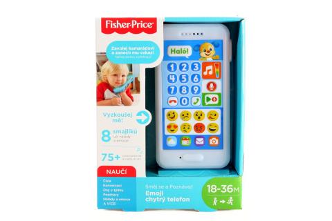 Fisher Price Emoji chytrý telefon CZ FPR19