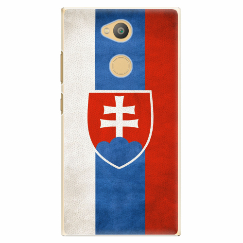 Plastový kryt iSaprio - Slovakia Flag - Sony Xperia L2