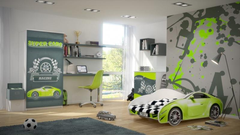 Nellys Dětská postel Super Car
