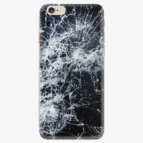 Silikonové pouzdro iSaprio - Cracked - iPhone 6/6S