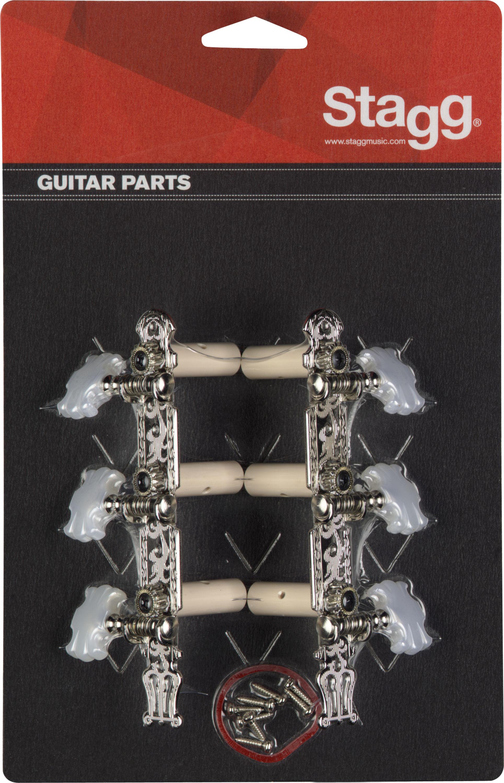 Stagg KG356, ladící mechanika pro klasickou kytaru