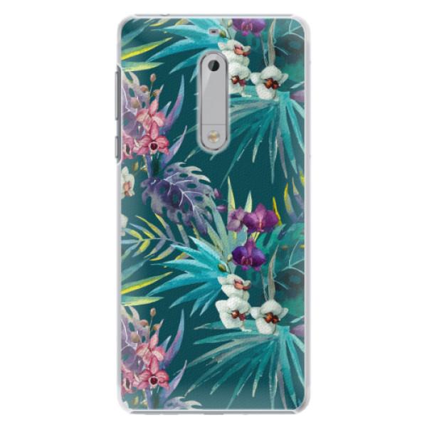 Plastové pouzdro iSaprio - Tropical Blue 01 - Nokia 5