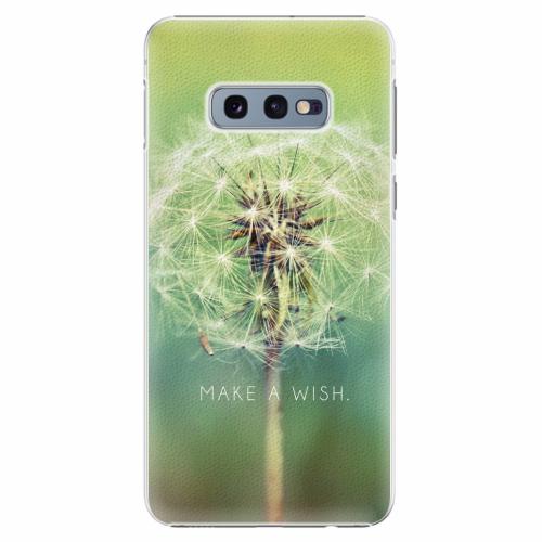 Plastový kryt iSaprio - Wish - Samsung Galaxy S10e