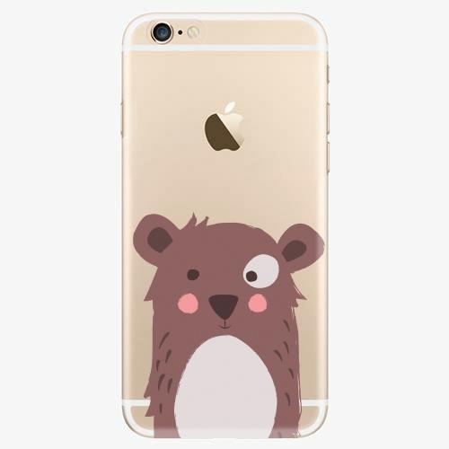 Silikonové pouzdro iSaprio - Brown Bear - iPhone 6/6S
