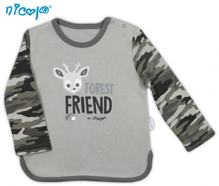 Bavlněné tričko Koloušek - dlouhý