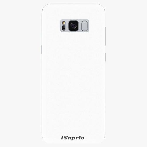 Silikonové pouzdro iSaprio - 4Pure - bílý - Samsung Galaxy S8