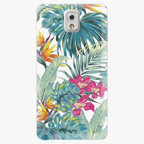 Plastový kryt iSaprio - Tropical White 03 - Samsung Galaxy Note 3