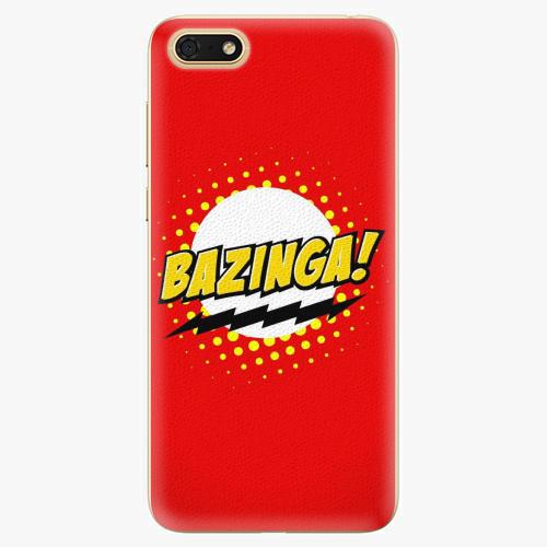 Silikonové pouzdro iSaprio - Bazinga 01 - Huawei Honor 7S