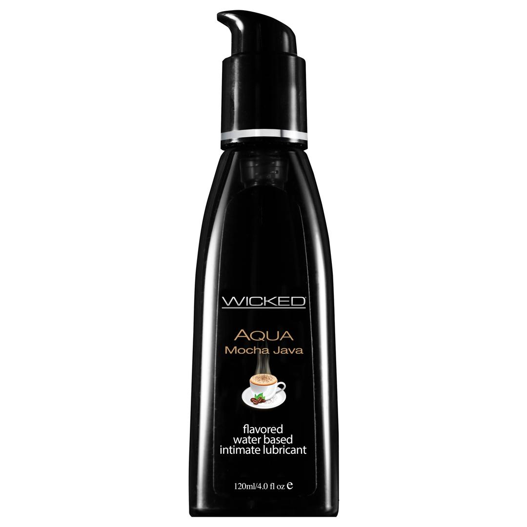 Lubrikant WICKED Aqua - Mocha Java - 4oz