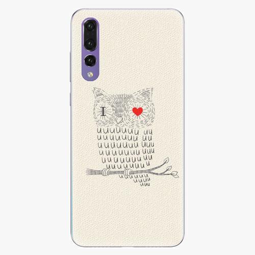 Plastový kryt iSaprio - I Love You 01 - Huawei P20 Pro