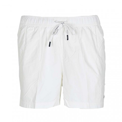 Pánské plavky Short Drawstring UM0UM00655-105 - Tommy Hilfiger - Bílá/L