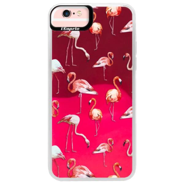 Neonové pouzdro Pink iSaprio - Flami Pattern 01 - iPhone 6 Plus/6S Plus